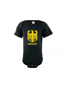Germany Baby Soccer Bodysuit Germany Shield
