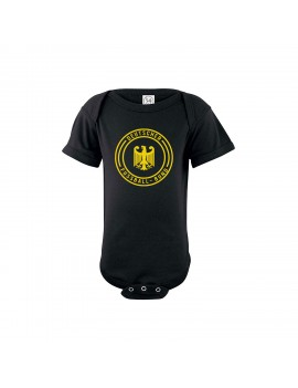 Germany Baby Soccer Bodysuit Deutschland Shield