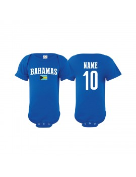 Bahamas Country Baby Soccer Bodysuit
