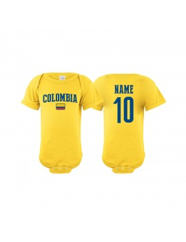 Team colombia Baby Soccer Infant Bodysuit World Cup