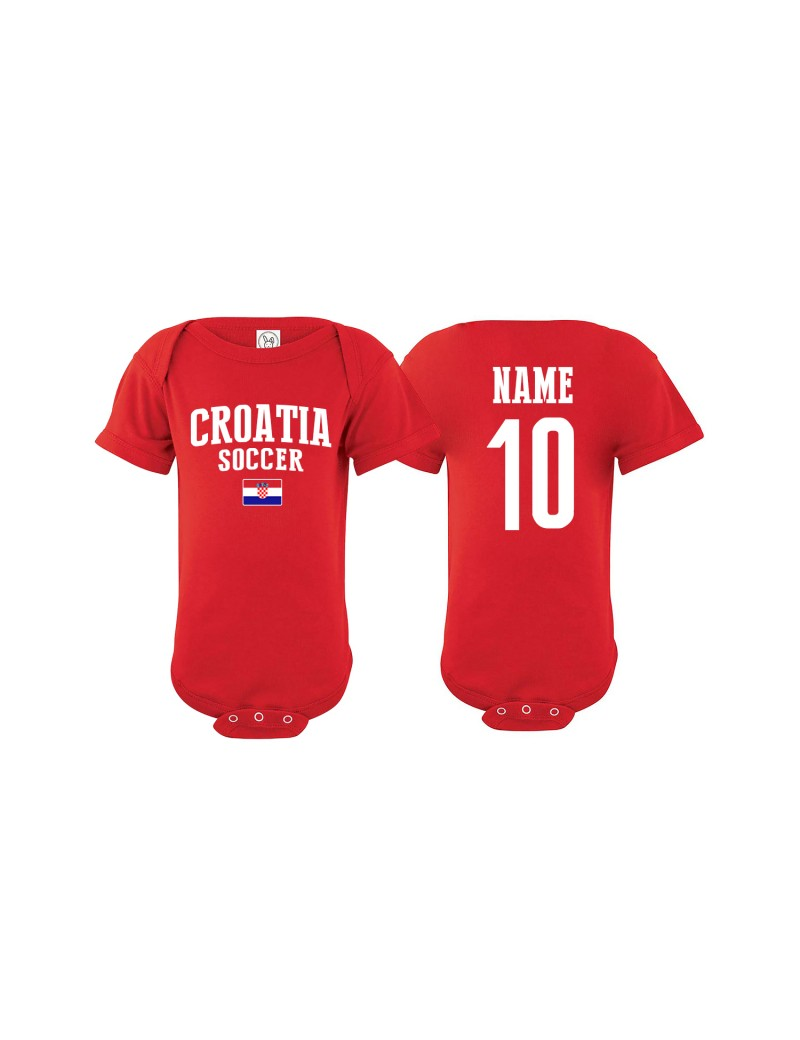 Croatia Country Baby Soccer Bodysuit World Cup