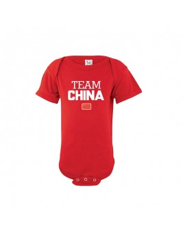 China Baby Soccer Bodysuit...