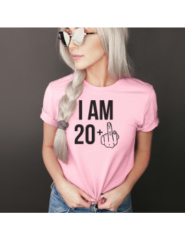 I am 21 unisex custom age t-shirt for women