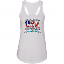 Women's T-Shirts sleeveless Woman Country Pride Argentina