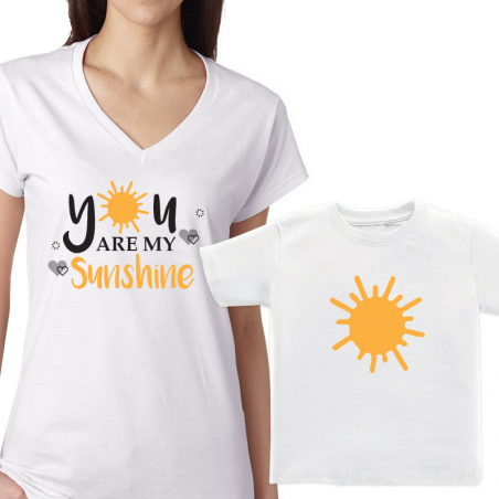 Mommy& Me Matching Tee Shirts Tee T-shirt