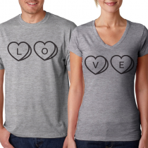 LOVE Heather Gray
